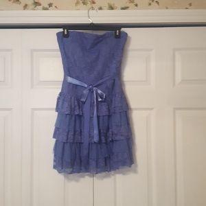 Dressy strapless dress